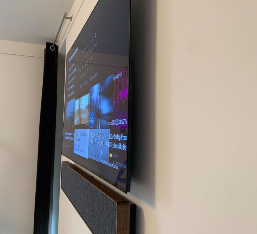 "Televizor LG OLED 55"" + soundbar BeoSound Stage"